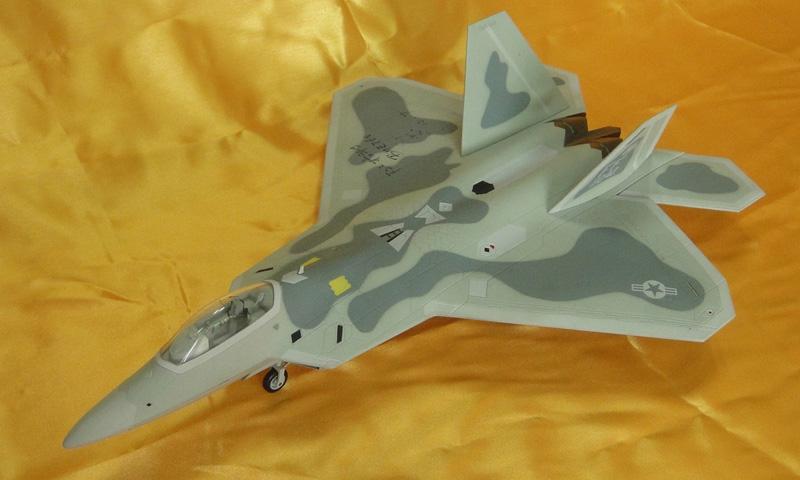 kt板飞机f22模型图纸720p